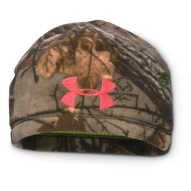 Under Armour Women's Hunting  Infrared Scent Control Beanie, Pink Chroma