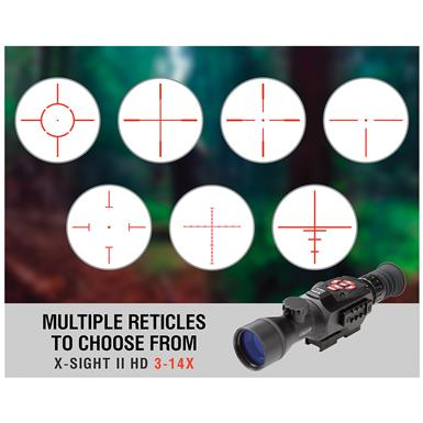 Switch between lots of reticles