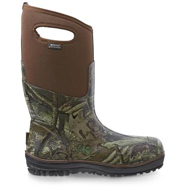 Bogs Men's Classic Ultra High Rubber Hunting Boots, Waterproof, Realtree