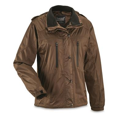 Mossi Women's RX Rain Jacket, Brown