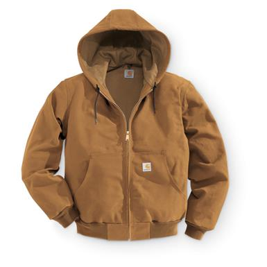 Carhartt Men's Thermal Duck Jacket, Carhartt Brown