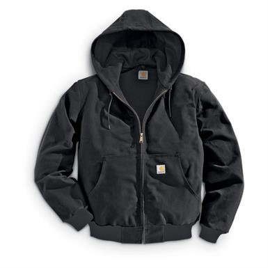 Carhartt Men's Thermal Duck Jacket, Black
