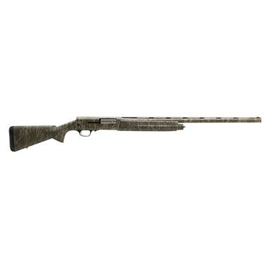 "Browning A5 Mossy Oak Bottomlands, Semi-Automatic, 12 Gauge, 28"" Barrel, 4+1 Rounds"