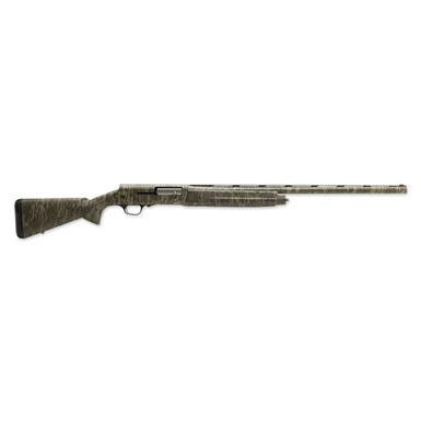 "Browning A5 Mossy Oak Bottomlands, Semi-Automatic, 12 Gauge, 26"" Barrel, 4+1 Rounds"