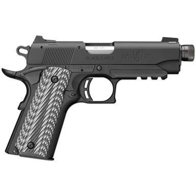 "Browning 1911 Black Label Compact, Semi-automatic, .22LR, 4.25"" Threaded Barrel, 10 Rounds"