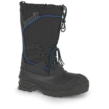 Kamik Men's Rider Waterproof Winter Boots, Black