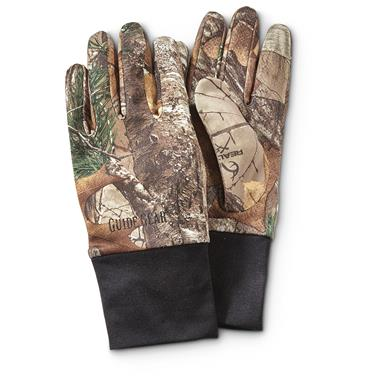 Guide Gear Performance Hunt Gloves, Realtree Xtra