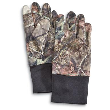 Guide Gear Performance Hunt Gloves, Mossy Oak Break-Up Country