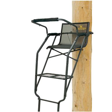 Rivers Edge Relax Wide 17' Ladder Tree Stand