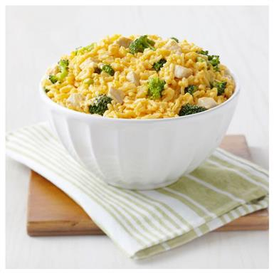 1 pouch Cheesy Broccoli Rice (8 servings)