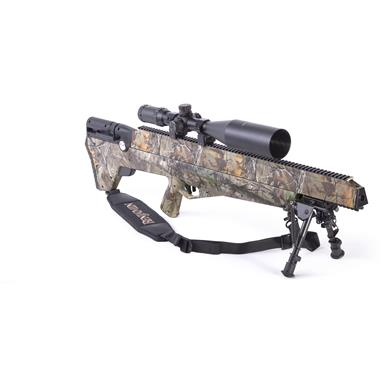 Benjamin Bulldog PCP Hunting Air Rifle Sportsmans Package, .357 Caliber, 4-16x56mm Scope, 5 Rounds