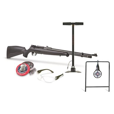 "Benjamin Maximus PCP Single Shot Bolt Action Air Rifle Accessory Kit, .22 Caliber, 26.25"" Barrel"