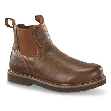 Guide Gear Men's Gorge Romeo Work Boots, Brown