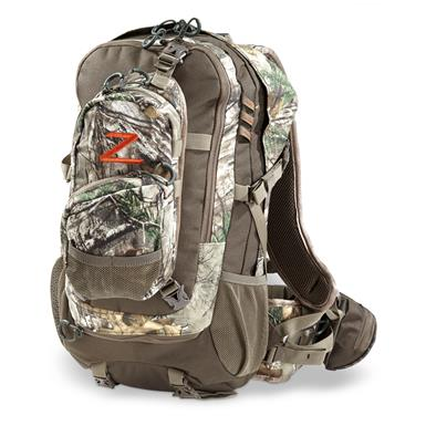 Alps OutdoorZ Crossfire Hunting Backpack, Realtree Xtra