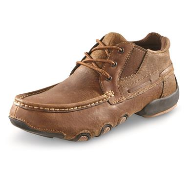 Roper Men's High Country Cruise Moc Casual Shoes, Brown