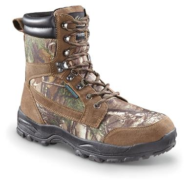 Itasca Men's Big Buck Insulated Hunting Boots, 800 Gram, Waterproof, Camo