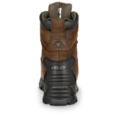 Guaranteed Rocky Waterproof construction for sure-dry comfort, Brown