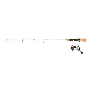 "Frabill Ice Hunter Series Steve Pennaz Deep Crappie 30"" Ice Fishing Rod and Reel Combo"