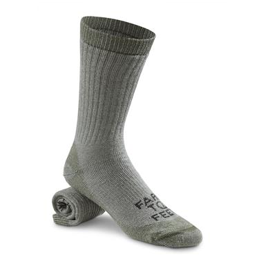 Farm to Feet Columbus Medium-Weight Boot Socks, Sage Green