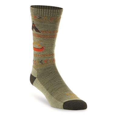 Farm to Feet Women's Franklin Lightweight Crew Socks, Reseda