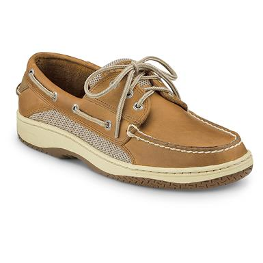Sperry Men's Billfish 3-Eye Boat Shoes, Tan / Beige