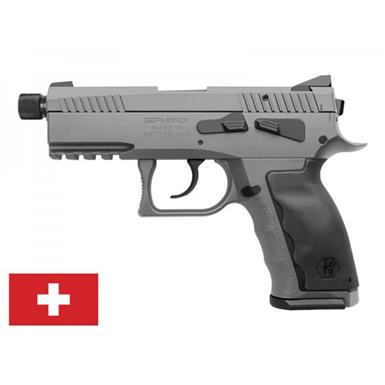 "Kriss USA Sphinx SDP Compact Alpha Wolf, Semi-Automatic, 9mm, 3.7"" Threaded Barrel, 15+1 Rounds"