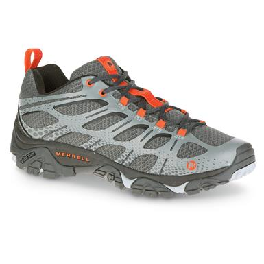 Merrell Men's Moab Edge Hiking Shoes, Gray