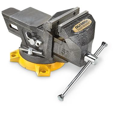 "Olympia 5"" Multi-Purpose Bench Vise With Quick-Release"