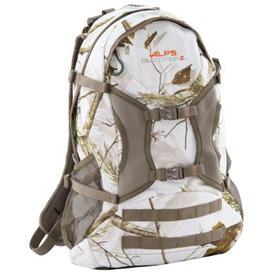 Alps Outdoorz Trail Blazer Backpack, Realtree AP Snow Camo