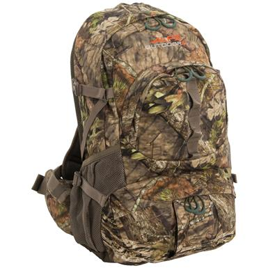 Alps Outdoorz Dark Timber Backpack, Mossy Oak Break-Up Country