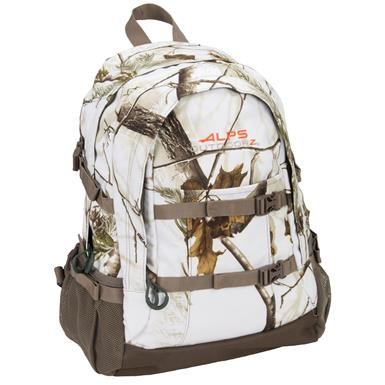 Alps Outdoorz Crossbuck Backpack, Realtree AP Snow Camo