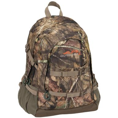 Alps Outdoorz Crossbuck Backpack, Mossy Oak Break-Up Country