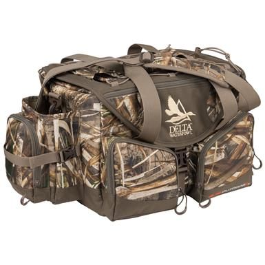 Delta Waterfowl Floating Deluxe Blind Hunting Bag, Realtree Max-5