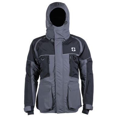Striker Men's Ice Predator Jacket, Gray / Black