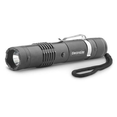 Guard Dog Security ElectroLite 140 Lumen Compact Tactical Flashlight with Maximum Voltage Stun Gun