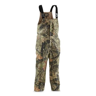 Guide Gear Men's Insulated Silent Adrenaline Hunting Bibs, Mossy Oak Break-Up Country