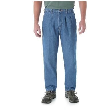 Wrangler Rugged Wear Men's Angler Pants, Indigo