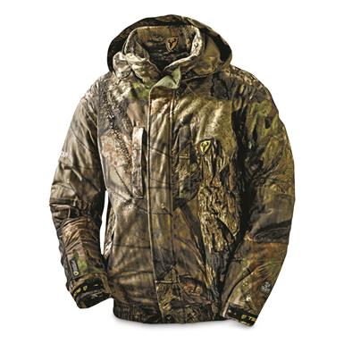 ScentBlocker Men's Outfitter Fleece Hunting Jacket, Waterproof, Mossy Oak Country