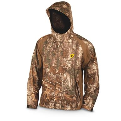 ScentBlocker Drencher Men's Hooded Hunting Rain Jacket, Realtree Xtra