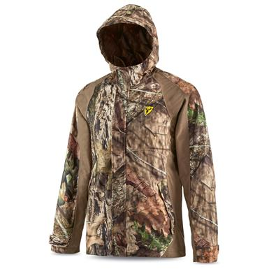 ScentBlocker Drencher Men's Hooded Hunting Rain Jacket, Mossy Oak Break-Up Country