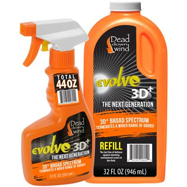 Dead Down Wind Evolve 3D+ Field Spray Combo, 76 oz.