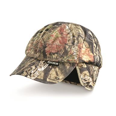 Outdoor Cap Co. Camo Baseball Cap With Earflaps, Mossy Oak Break-Up Country