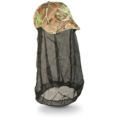 Outdoor Cap with Bug Net, Realtree Xtra Green