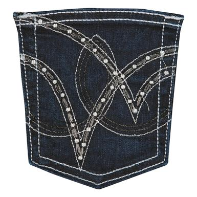 Wrangler Cowgirl Cut Ultimate Riding Jean,Q-Baby, Booty Up, ST Wash