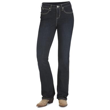Wrangler Women's Aura Instantly Slimming Jeans, BT Wash