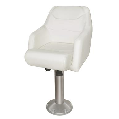 Wise Ski Boat Bucket Seat, with mounting plate, Model C - Standard style