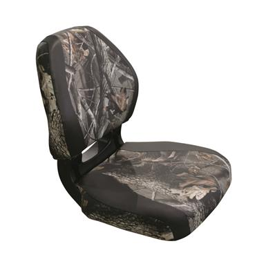 Wise Torsa Scout Camo Fold-Down Boat Seat, Hardwoods