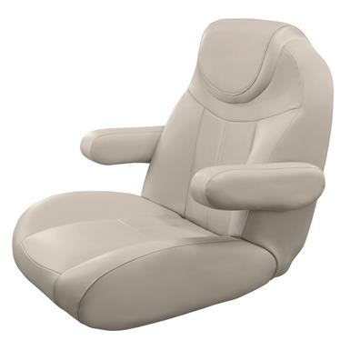 Wise Tellico Mid Back Recliner Pontoon Bucket Seat, Color D -  Platinum