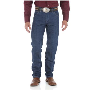 Wrangler Rigid Premium Performance Cowboy Cut Regular Fit Jeans, Rigid Indigo