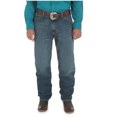 Wrangler Men's 20X 01 Competition Relaxed Jean, Cool Vantage, Storm Blue